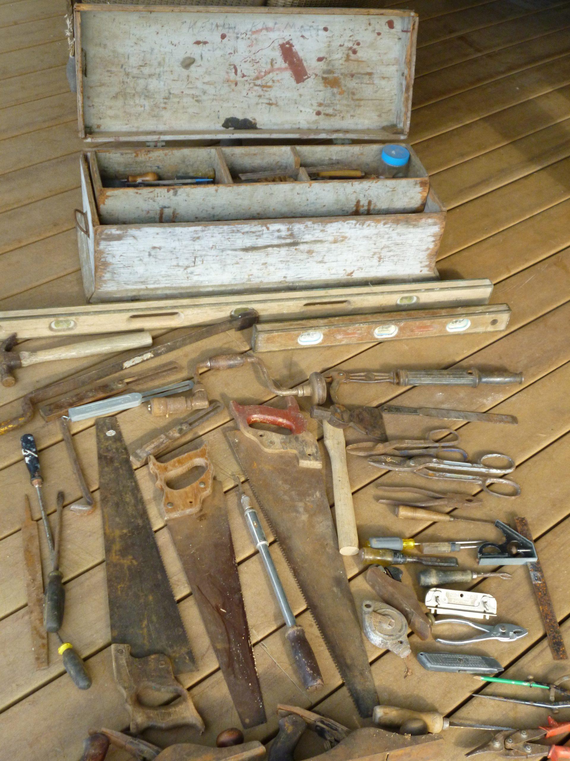 Craftsmanship Series:  Dick Kalman's Toolbox